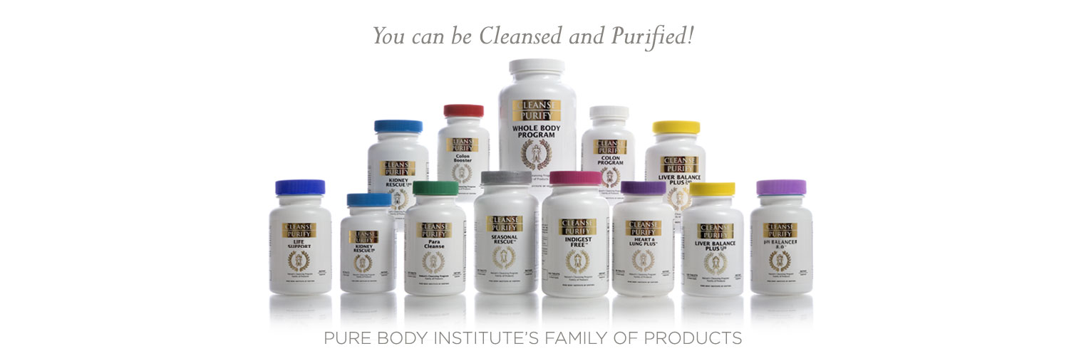 Pure Body Institute's Family of Products